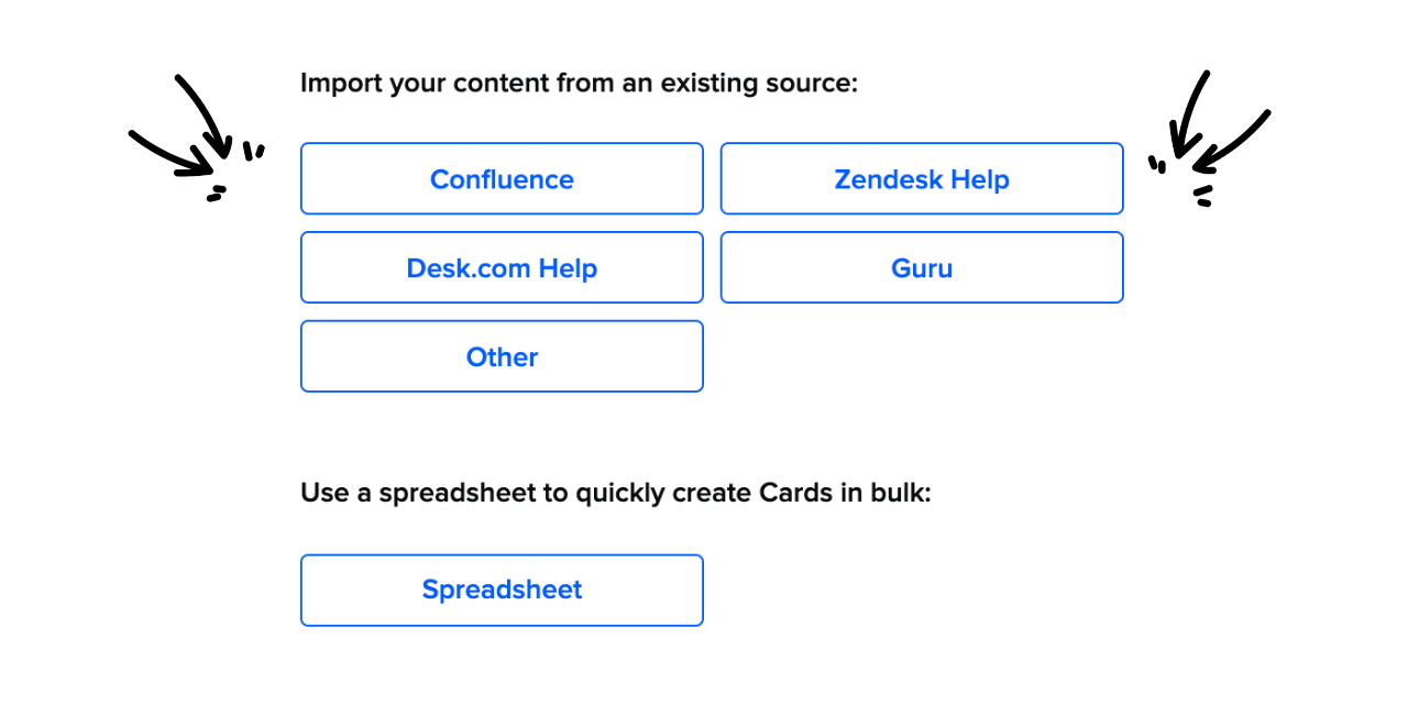 Importing Guru Content from an Existing Source
