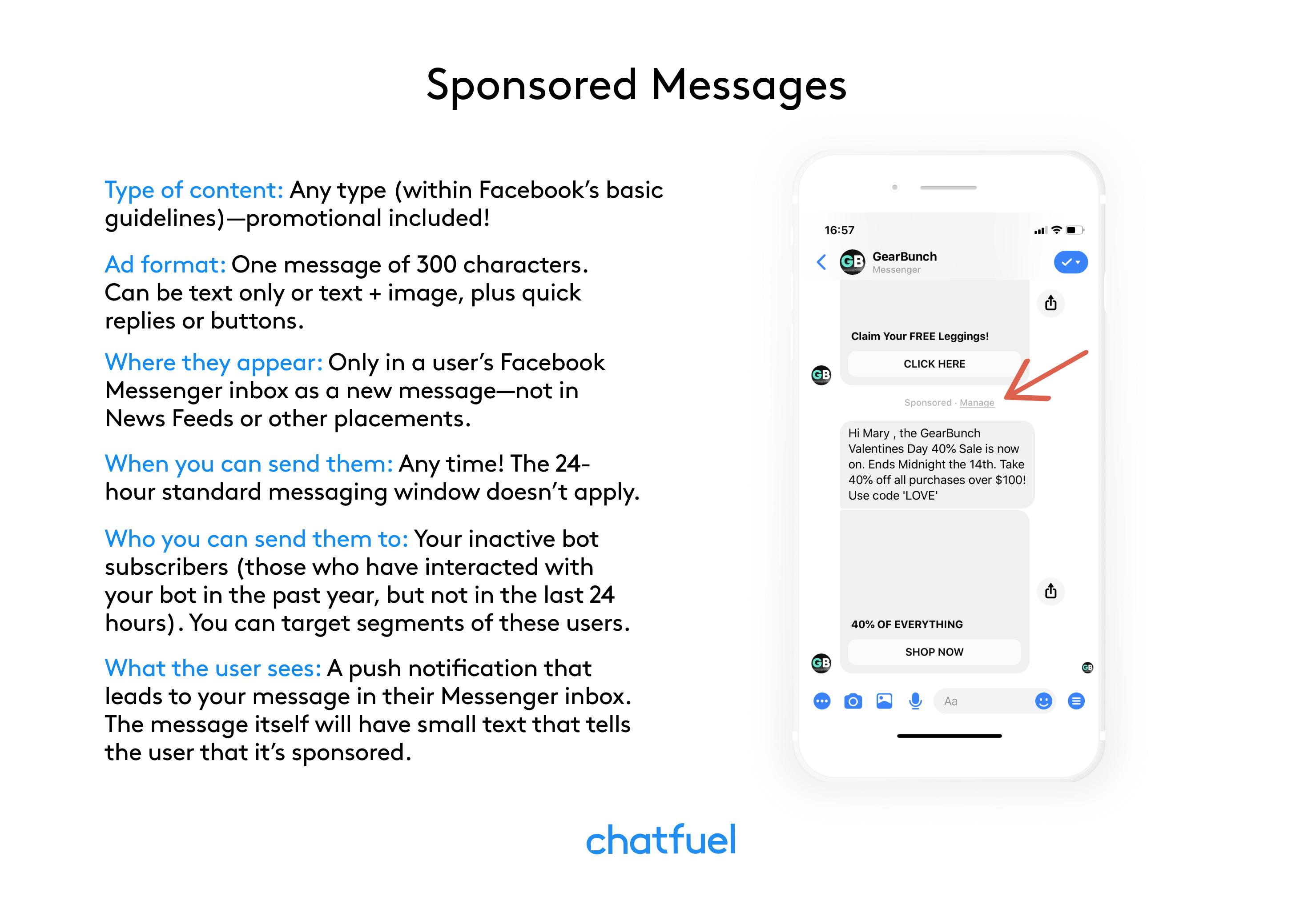 sponsored messages