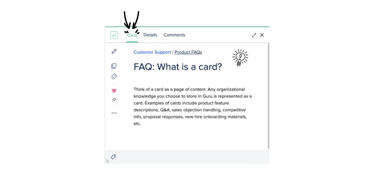 What is a Guru Card?