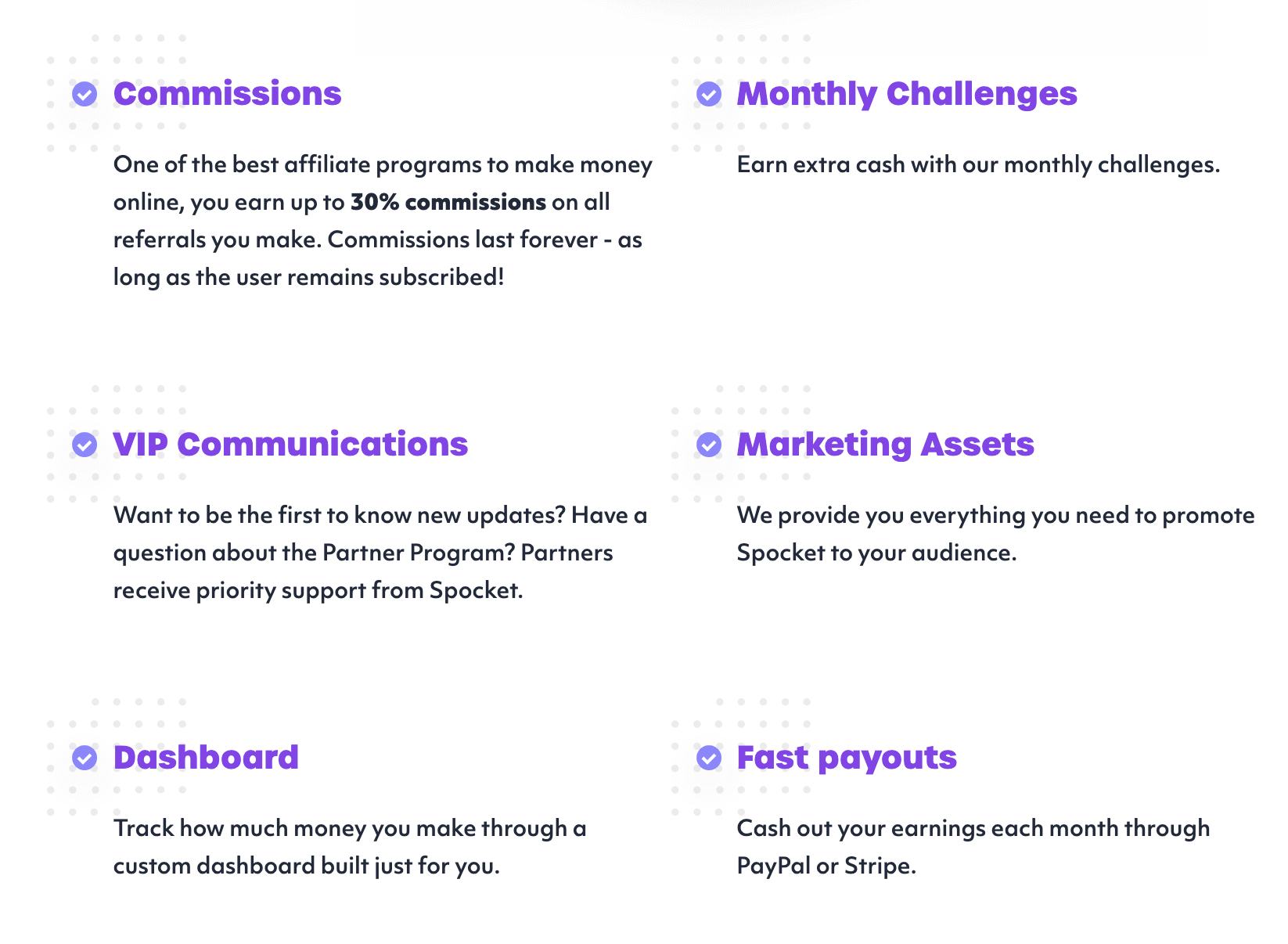 Spocket's Affiliate Program
