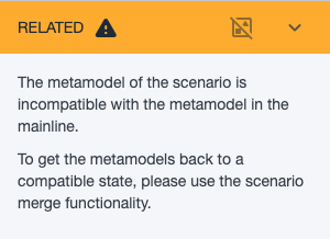 Ardoq incompatible metamodels
