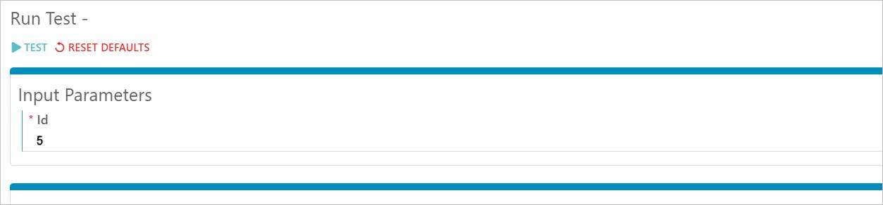 Synatic - API Test Input Parameter