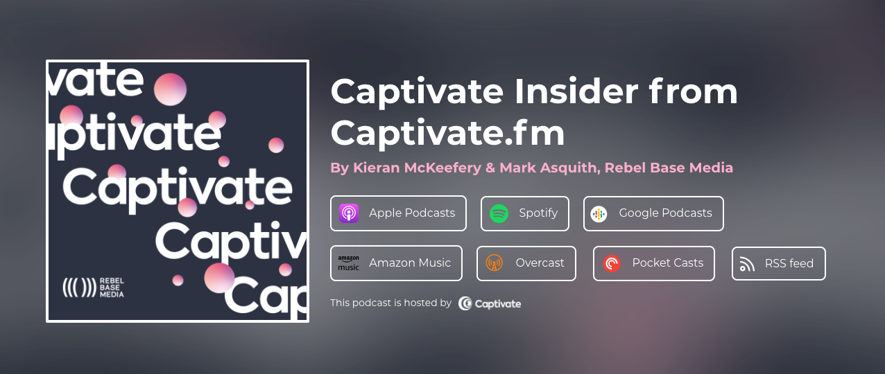 Easily promote your podcast with the Captivate Single Subscription Link