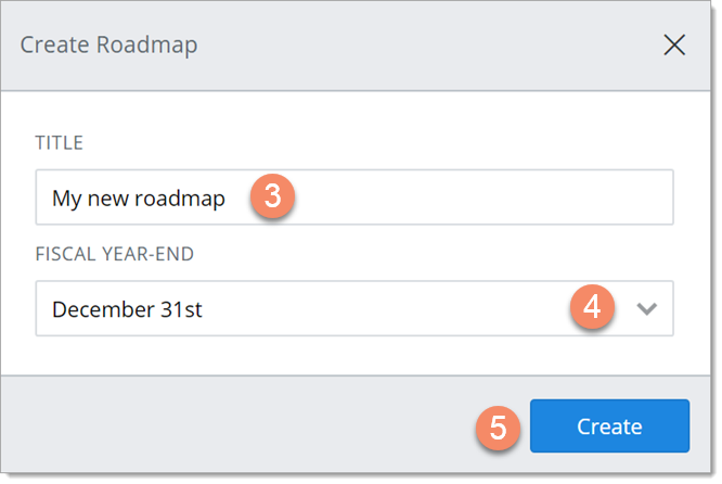 Create a new roadmap from scratch roadmunk help center 3 in the create roadmap dialog enter a title for the roadmap tip the title should be short but descriptive to differentiate it from similar roadmaps in pronofoot35fo Image collections