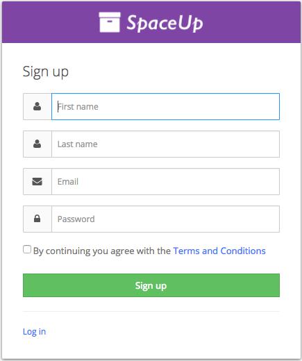Valet Customer App: Sign up