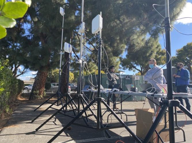 High density testing for Celona outdoor AP