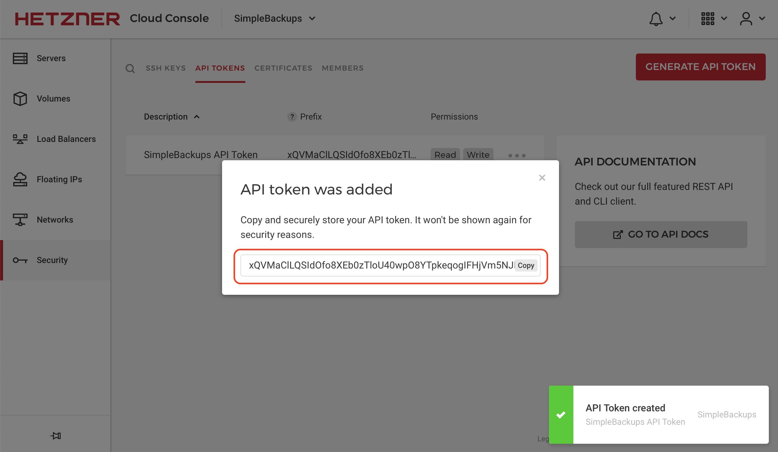 SimpleBackups-Hetzner-Create-API-Token-Credentials-Step3