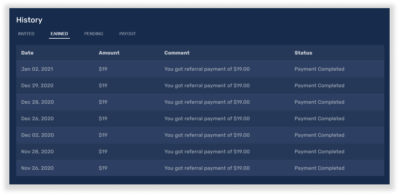 How to track your referral program stats