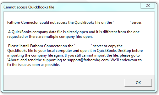Can I Import From Quickbooks Desktop In A Hosted Or Server