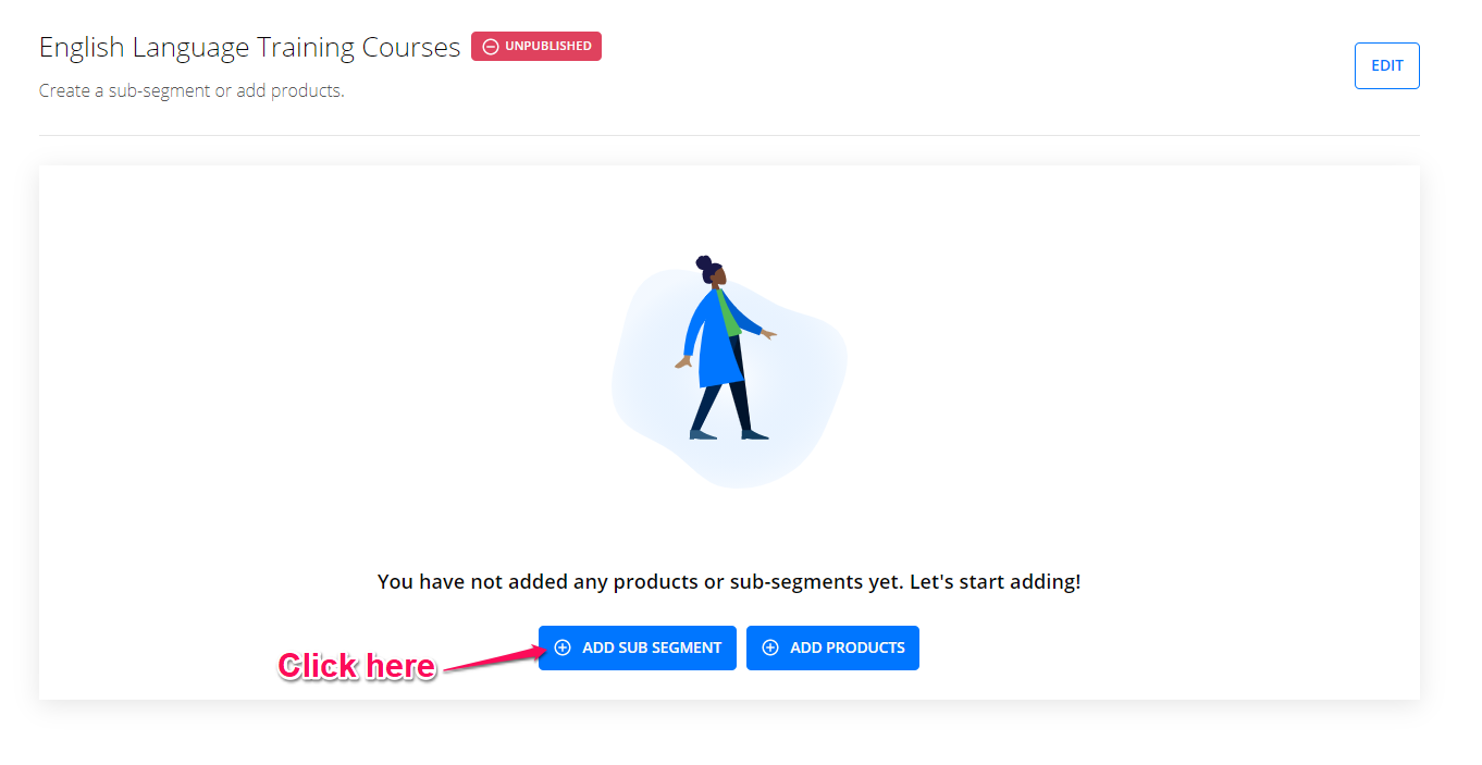 how to organize your courses using segments