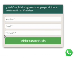 Whatsapp en la página