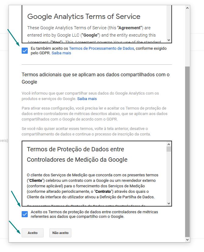 google-analytics-termos-de-serviço