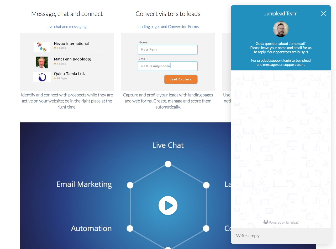 How to Use Live Chat for Lead Generation [Guide]