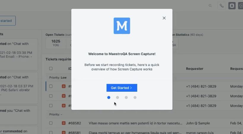 screen capture maestroqa