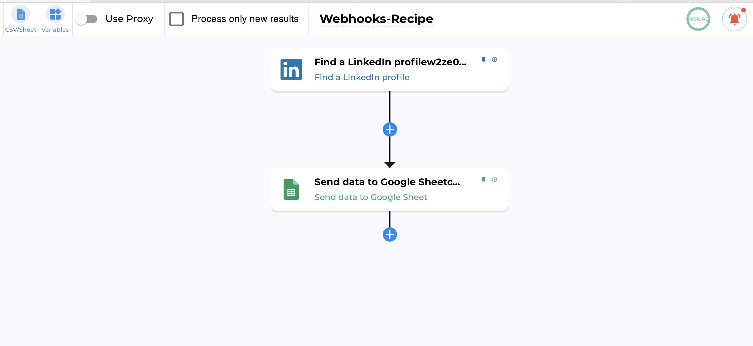 TexAu Webhook Example