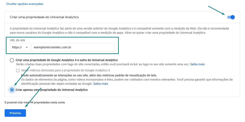 google-analytics-criar-universal-analytics