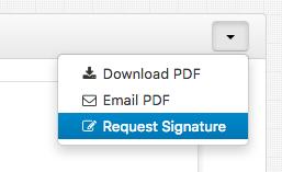 hellosign-request-signature
