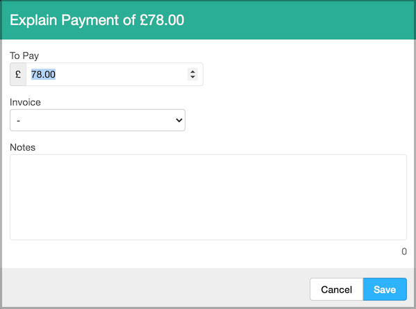 Dentally Explain a Payment
