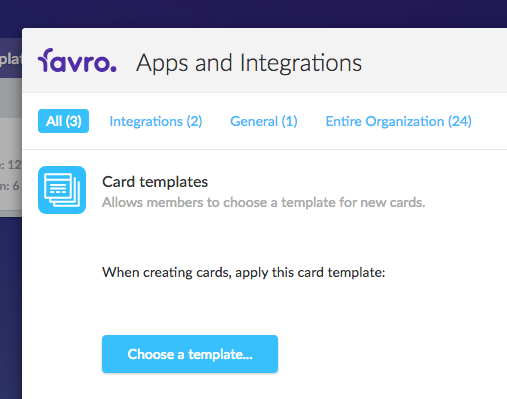 Now From The Backlog Or Board Apps And Integrations Menu, You Can Choose  The Template You Just Saved.  Line Card Template