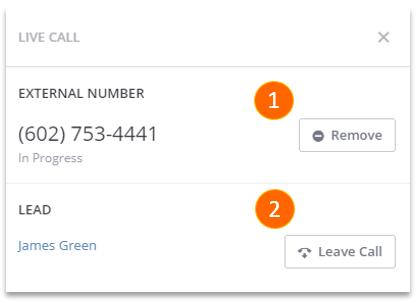 RingResponse Warm Transfer Call Controls