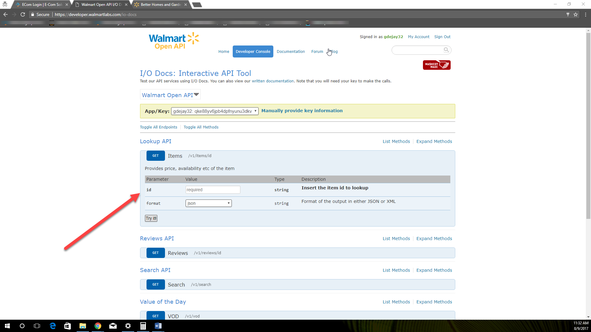 using your walmart api keys to check stock e com solutions help center