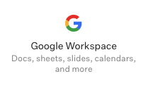 Google workplaces