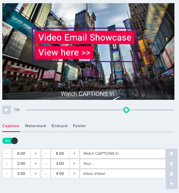 How to use CAPTIONS to enhance video for better results