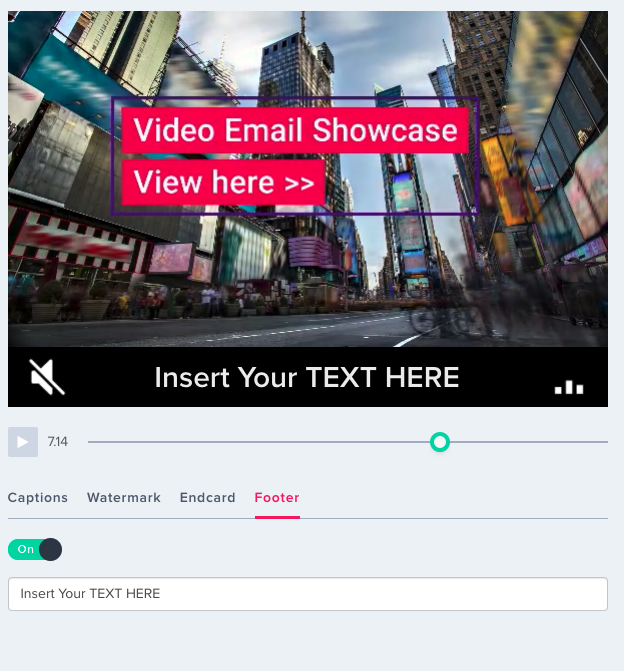 How to use FOOTERS to enhance video for better results