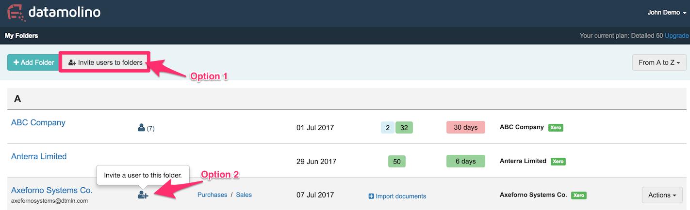 Datamolino Xero Step By Step Datamolino Help Center - Scan invoices into xero