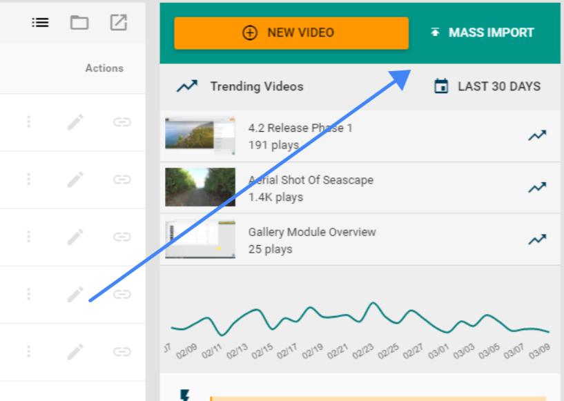 Mass Import Videos