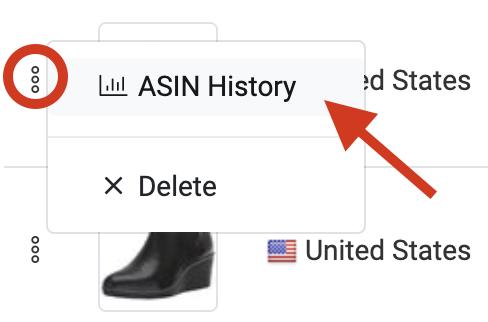ASIN Spy-ASIN History