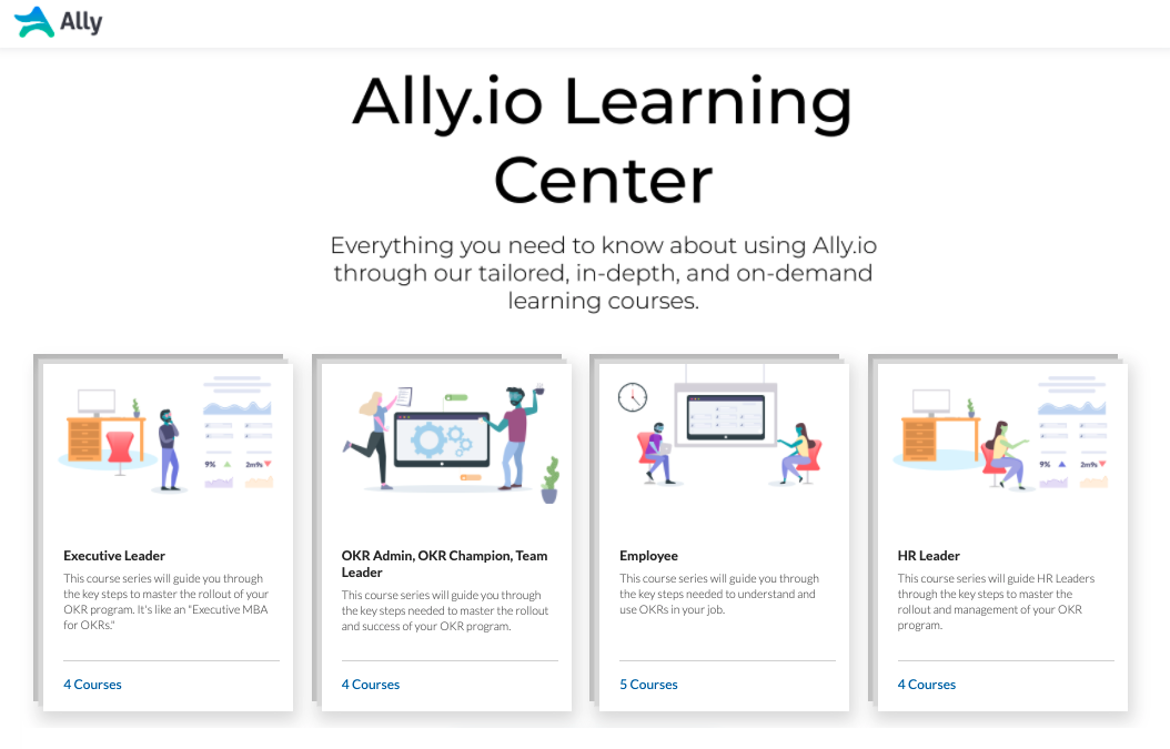 Visit the Ally Learning Center