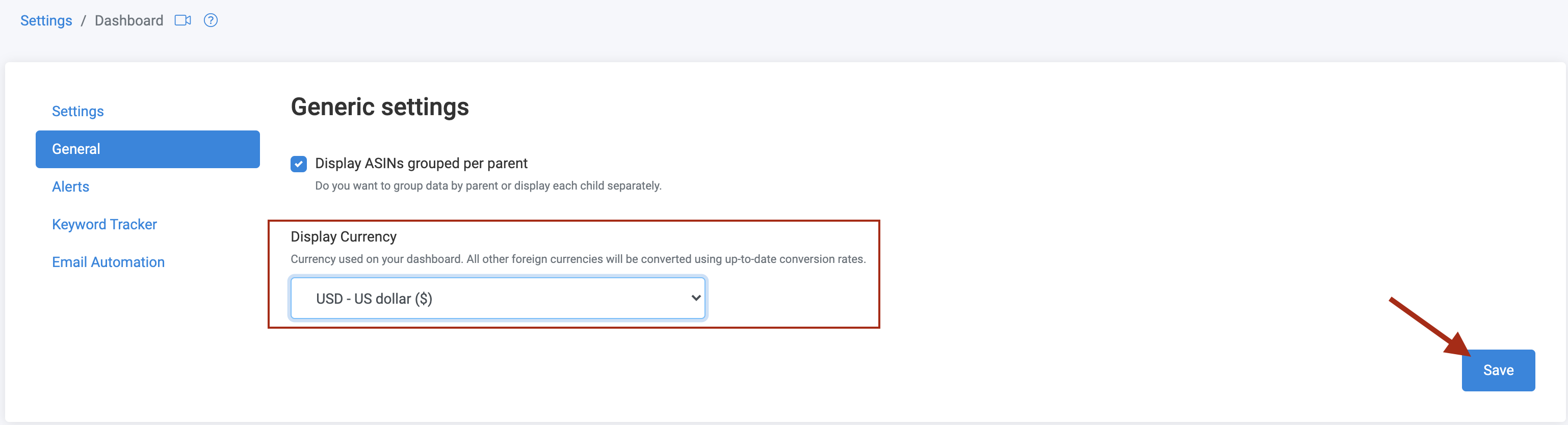 How-to use Products Manager-General Settings