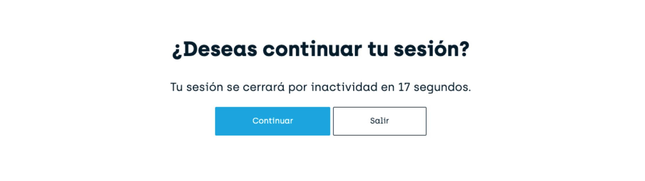 Pregunta para evitar cerrar sesión por inactividad en briq.mx