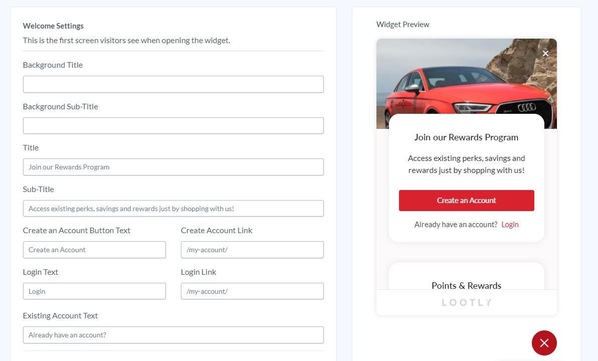loyalty app customization