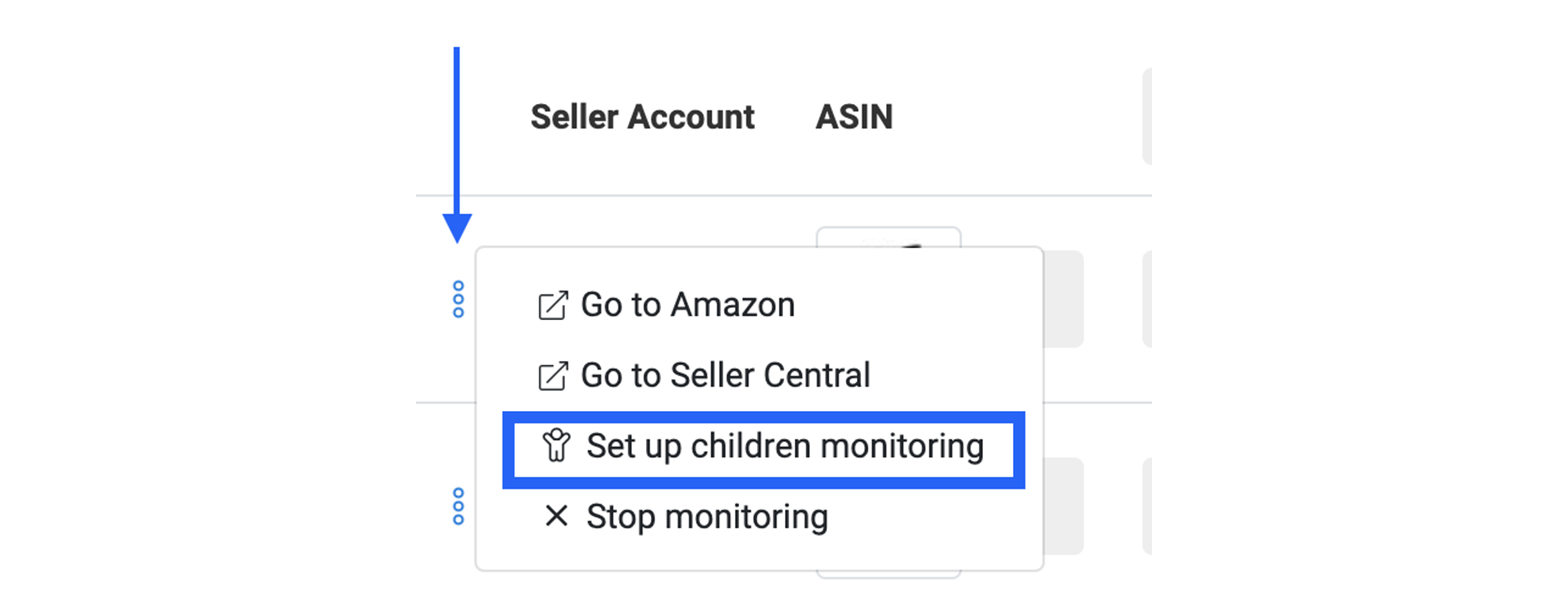 How to set up Alerts and Notifications SOP - ASIN Menu