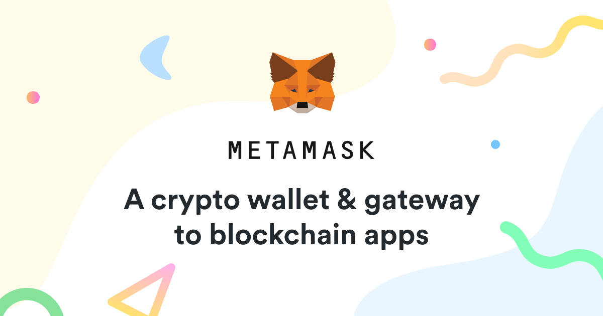 MetaMask - A crypto wallet & gateway to blockchain apps