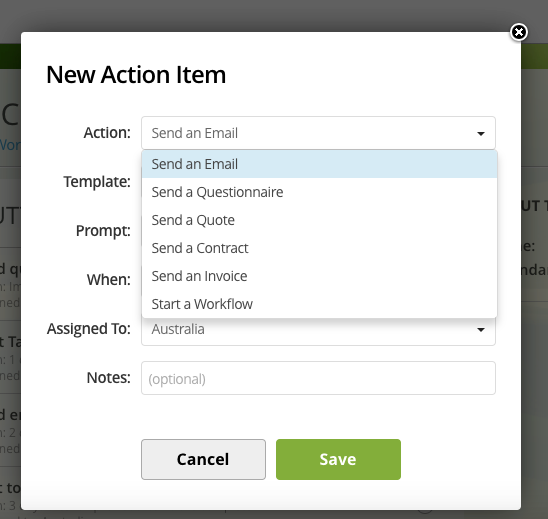 Workflows Action Items Hats Help Center - What to say when sending an invoice via email