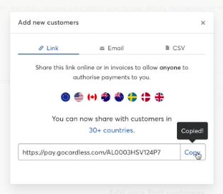 add new customers