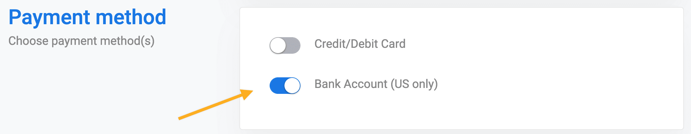 Collecting ACH payments with Stripe
