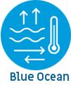 how do we measure blue ocean