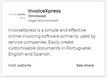 InvoiceXpress integration