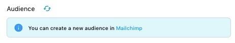 mailchimp audience