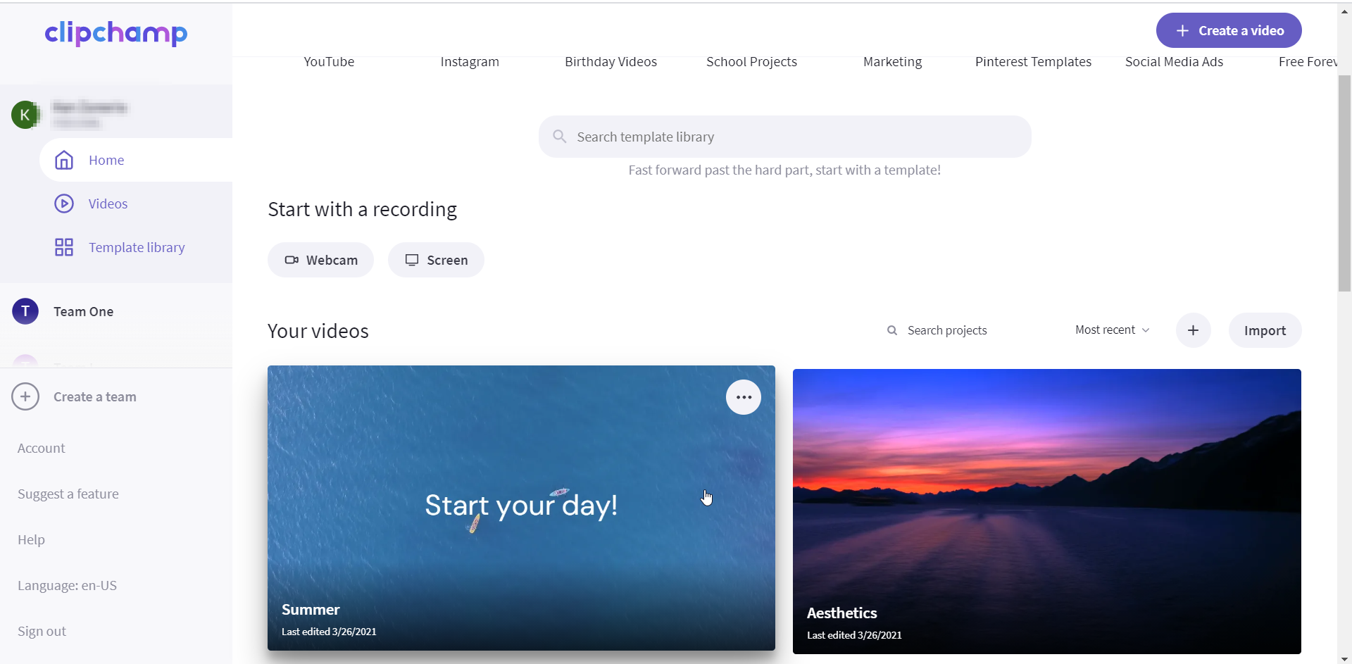 An image of your dashboard.