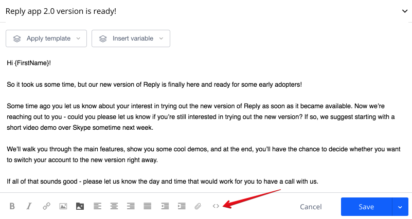 How Do I Change Font In My Email Templates Reply Help Center - Html email starter template
