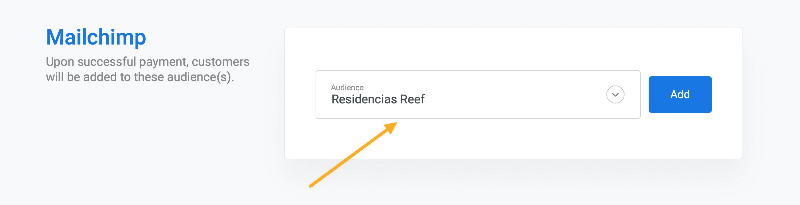 Integrating Stripe with Mailchimp through ChargeKeep