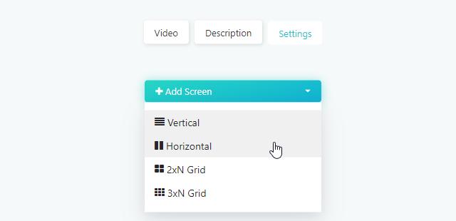 Creating a new custom screen