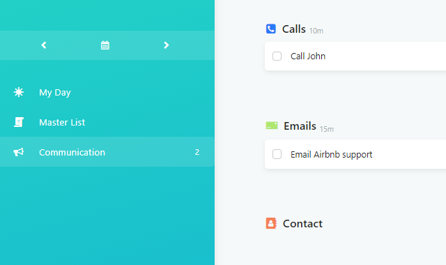 Custom Screen example using Communication workflow snippet