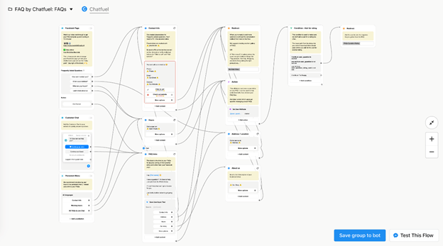 chatbot building