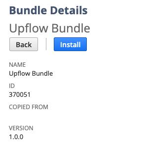 Upflow bundle